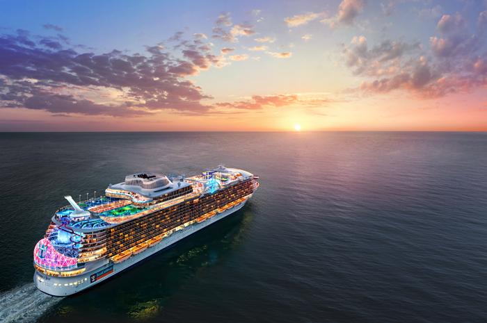 A nova embarcação da classe Oásis será o maior navio de cruzeiros do mundo e navegará pela China a partir de 2021