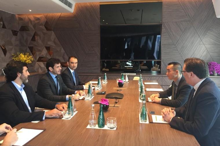 Ministro se reuniu com executivos do Melco Resorts & Entertainment