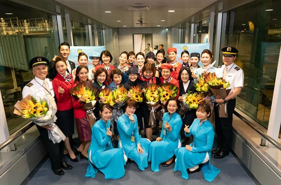 Staff que participou da celebração