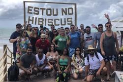 """Famtour """"Azul da Cor do Mar de Alagoas"""" chega ao terceiro dia; veja fotos"""