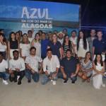 """Agentes de Viagens vencedores da campanha """"Azul da cor do mar de Alagoas"""""""
