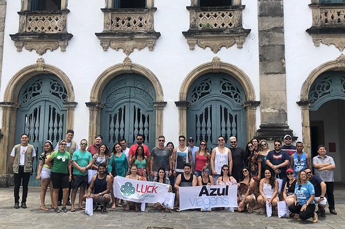 Agentes visitaram o Museu Arquidiocesano de Arte Sacra Dom Ranulpho