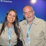 Alessandra Veiga e Luiz Castro, da Bahia Tursa