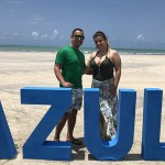 Alex Vieira e Gabriela Herculian, da Atual Turismo, de Marília-SP