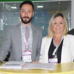 Alexandre Nakagawa e Vanessa Mendonça, da Setur-DF