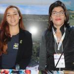 Ana Caroline Alves, da Turisforte, e Jaqueline Pires, da Setur-BA