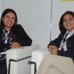 Ana Claudia Rego e Roselene Medeiros, do Amazonastur