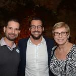 Angel Sarria, da Disney, Fabio Oliveira e Barbara Picolo, da Flytor