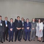 Autoridades e lideranças do trade reunidas na abertura do evento