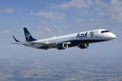 Azul terá 57 voos extras durante feriado de 12 de outubro
