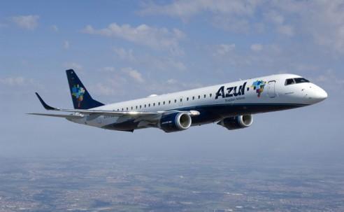 Azul terá mais de 500 voos diários em outubro