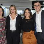Bianca Pizzolito, Luciane Leite, Claudia Delfino e James Smith, da WTM-LA