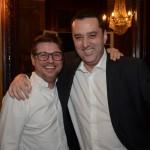 Bob Rossato, da Viajanet, e Renato Hagopian, da Qatar Airways