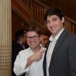 Bob Rossato, da Viajanet, e Rodrigo Senra, da Delta