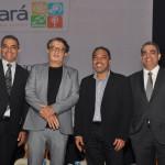 Breno Mesquita, Arialdo Pinho, Claudio Junior e Bruno Mesquita