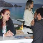 Buyers e suppliers negociam no estande da Embratur nesta FIT 2019