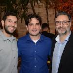Caique Toledo, Fernando Nobre e Mauricio Alexandre, da RCA