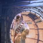 Chewbacca foi o grande destaque do evento e gerou fila para fotos