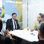 Ciro Camargo, da Gol, se reuniu com Gilson Machado Neto e Osvaldo Matos, da Embratur