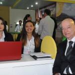 Claudia Macedo, Karomila Marcos e Claudio Maia, da Itaparica Tour