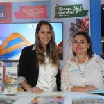 Daiane Arreguy e Juliana Bordin, do SeaWorld