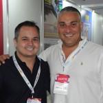 Daniel de Oliveira Santos, do Nacional Inn, e Guilherme Miguel, do Bourbon Cataratas do Iguaçu