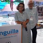Danielle e Ricardo Roman, de Anguilla