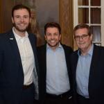 Denis Ribeiro, da Air France, André Khouri, da CNT, e Roberto Vagner, da Gol