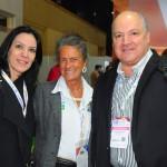 Denise Meyer, da Rouge, Mari Masgrau, do M&E, e Luis Calle, da CAMAR