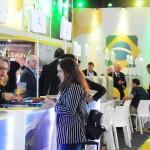 Dia de profissionais visitarem o estande do Brasil na FIT 2019