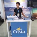 Dorivana Morais, da Costa Cruzeiros