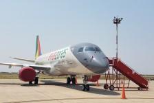 Amaszonas inicia operações com frota brasileira de E190s