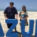 Edson Agudo e Tercila Agudo, da TM Turismo de Presidente Prudente-SP