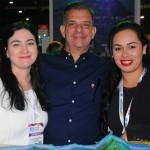 Elen Penhafiel, Luis Maio e Barbara Oliveira, de Ilhabela