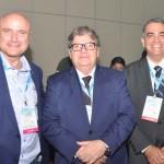 Enio Stelmach, da Genesis Tours, João Azevêdo, governador da Paraíba, Bruno Mesquita, diretor do JPA Travel Market