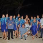 Equipes da Azul Viagens e da Luck Receptivo