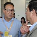 Esteban Tossutti, CEO da Flybondi, e Otávio Leite, secretário de Turismo do RJ