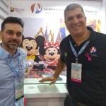 Fabio Timotheo e Luis Carlos Borges, do North America Destination