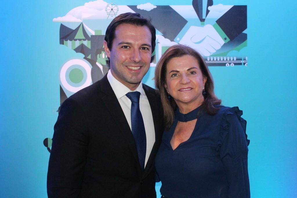 Eduardo Zorzanello e Marta Rossi, diretores do Festuris