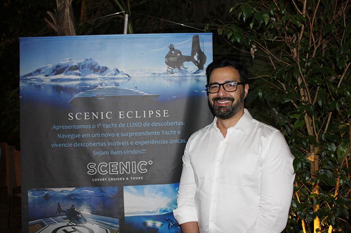Flavio Policarpo, gerente de Desenvolvimento de Negócios da Scenic para a América Latina