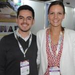 Francisco Almeida e Maren Hoenninger, da ITB Berlim