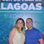 Gabriela Herculian e Alex Vieira, da Atual Turismo, de Marília-SP