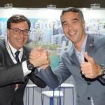 Gilson Machado, da Embratur, e Rafael Brito, secretário de Turismo de Alagoas