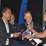 Grupo Trend recebe troféu durante a solenidade de abertura do JPA Travel Market