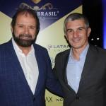 Guilherme Paulus ao lado de Euclides Gusi, presidente da Confederação Brasileira de Golfe