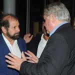 Guilherme Paulus, da GJP, e Roy Taylor, do M&E