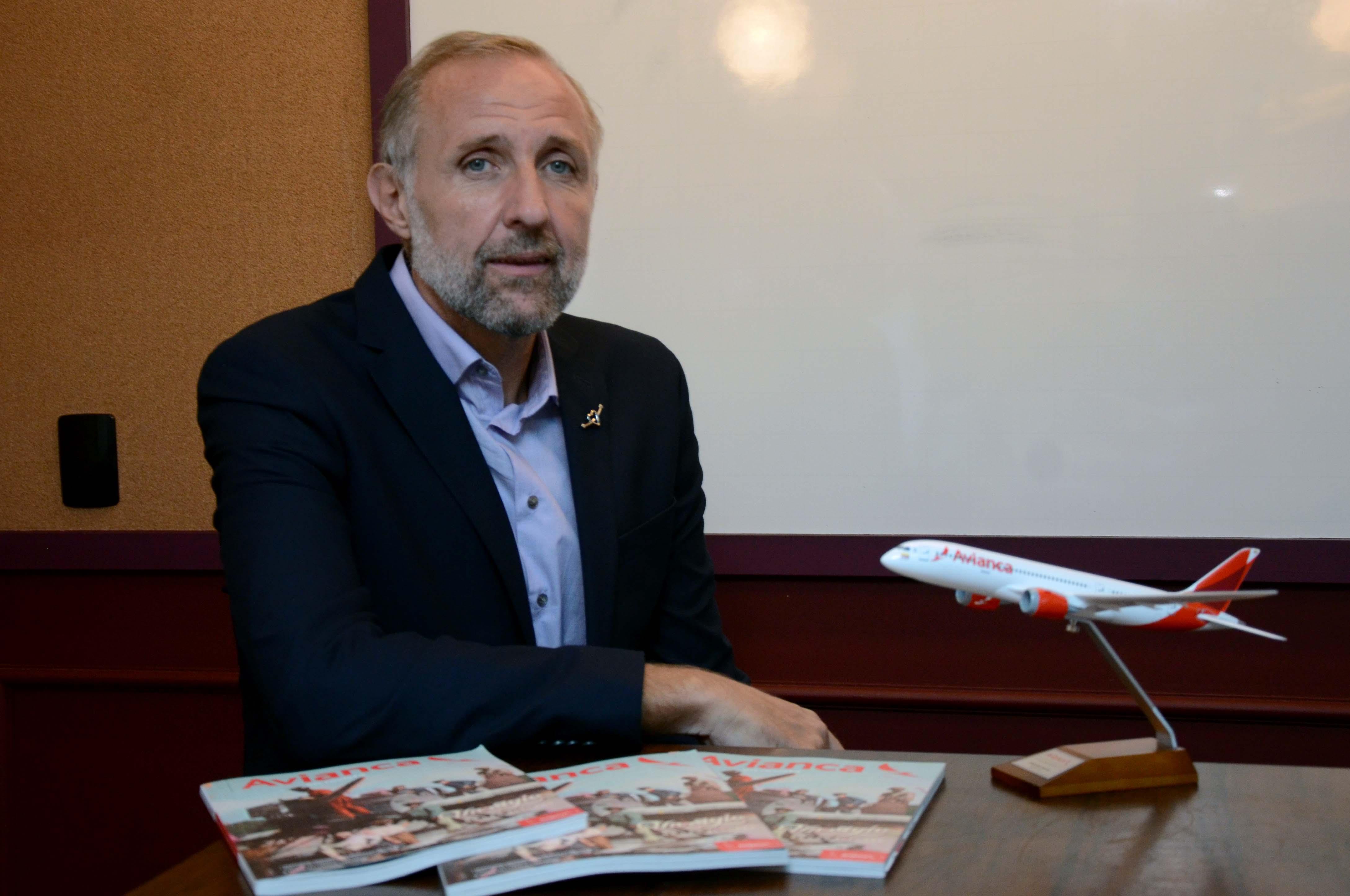 Gustavo Esusy, novo gerente de Vendas da Avianca Holdings no Brasil (Foto: Eric Ribeiro)