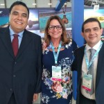 Gustavo Feliciano, Ruth Avelino e Luciano Lapa, da Paraíba