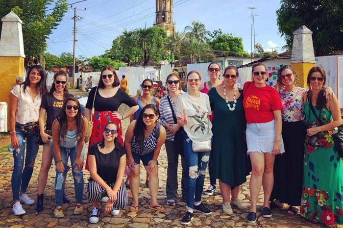 Em parceira com a rede Iberostar de hotéis, a Caribbean Tours - receptivo representado pela DUO Network no Brasil - levou 12 agentes de viagens mulheres para conhecer os atrativos de Cuba