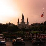 St Louis Cathedral na Jackson Square em New Orleans